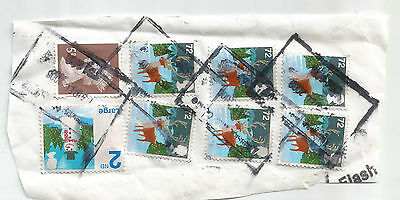 GB; PARCEL STAMPS; Christmas 2008 USED *G
