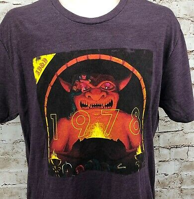 Advanced Dungeons & Dragons AD&D T Shirt Short Sleeve 1978 Handbook Cover