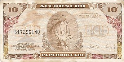 Disney - 10 Dollars Accornero (Italy)