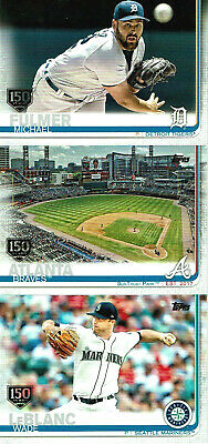 2019 Topps Series 1 and 2 GOLD STAMP 150 YEARS - U Pick the Cards