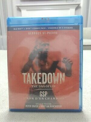 Takedown: The DNA of GSP (Blu-ray) Brand New