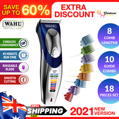 Wahl Cordless Hair Clipper Trimmer Shaver Rechargeable Mens Clippers Electric