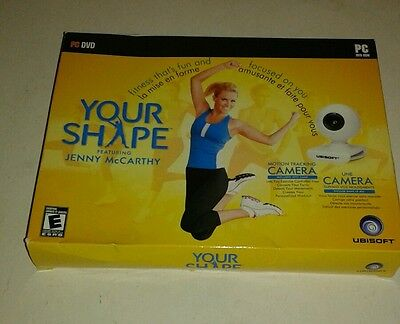 Your Shape Featuring Jenny McCarthy (PC, 2009) Brand New
