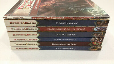 Dungeons & Dragons 4th Edition Hardcover Book Module Lot Collection D&D DND AD&D