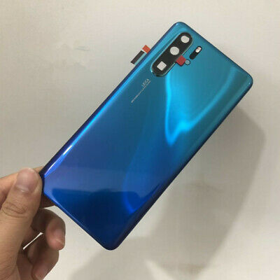 Original Rear Glass Back Housing Door Battery Cover Adhesive For Huawei P30 Pro