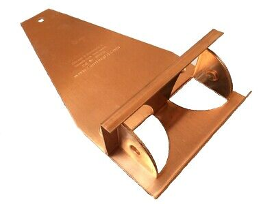 Copper Snow Guard, The Original for metal, slate, shingle, or tile roofs 10 box
