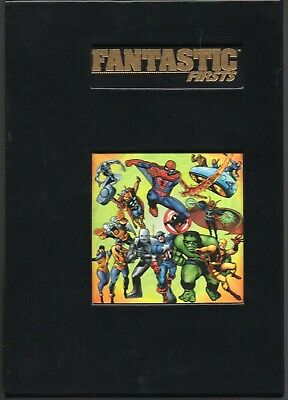 Marvel Limited: Fantastic Firsts Die-Cut Slipcased HC w/Bookmark 1994 NM FREE S/