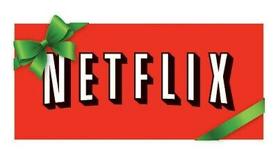 Netflix 25$ Gift Card For $12.50 printed then shipped.