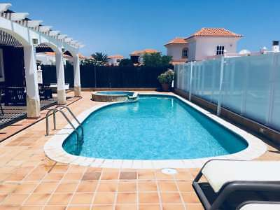 MAY HALF TERM 4 bed 8 Guest Private Luxury Villa Caleta De Fuste Fuerteventura