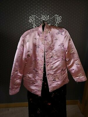 Vintage embroidered Chinese Reversible Coat