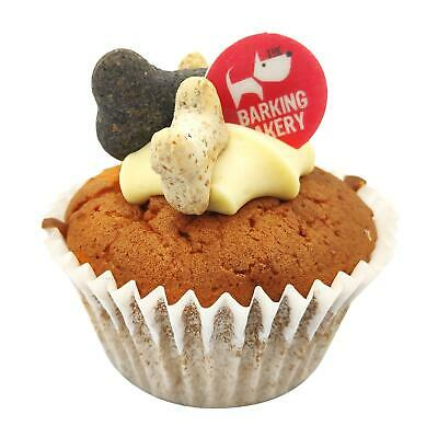 The Barking Bakery Vanilla Muffin Dog Birthday Cup Cake Treat Snack Food for Pet