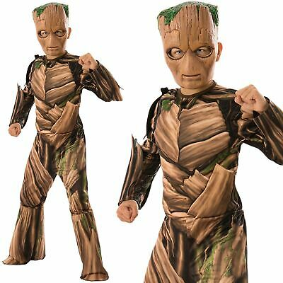 Boys Official Teen Groot Guardians Of The Galaxy Fancy Dress Costume
