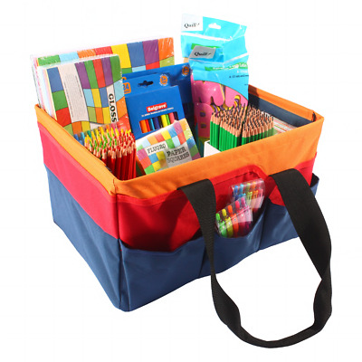 BRENEX Tote Bag Art Crafts Organiser Pencils Pens Crayons Paint Storage Bag
