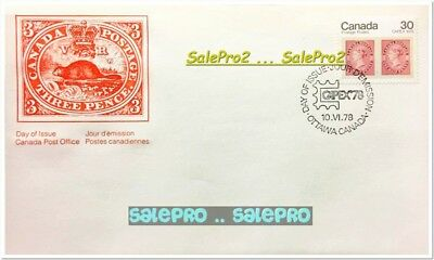 Canada 1978 Canadian Capex '78 Queen Face 12 Cent Mint Stamp 1St Day Cover Fdc