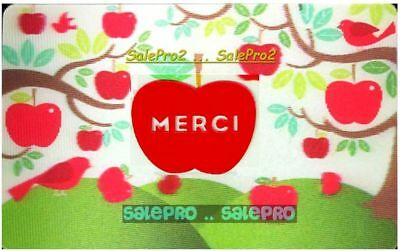 Chapters Indigo Coles Merci French 3D Lenticular Rare Collectible Gift Card