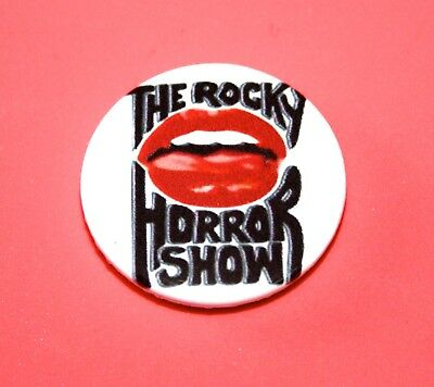 Rocky Horror Picture Show Lips Button Pin Badge