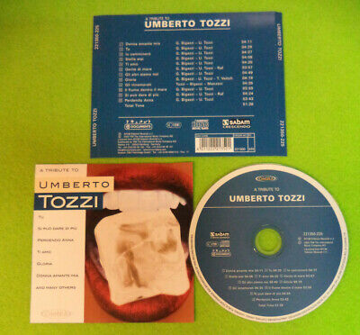 CD a tribute to UMBERTO TOZZI 2003 Europe AFOM ED.MUSICALI no mc dvd lp (CI61)