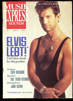 MUSIK EXPRESS Sounds  Nr. 4  1991  .   Chris Isaak   Reggae   Jim Kerr