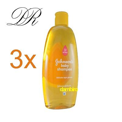Johnson Baby Shampoo 3 x 300ml - Three Pack - No Tränen Formula