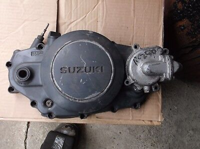 suzuki rg 250 clutch cover and water pump