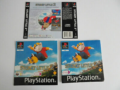 * Ps1 * Stuart Little 2 * Manual, Front & Rear Inlay's Only * Retro Gamer