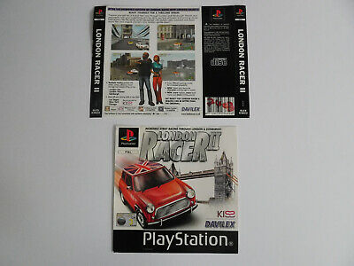 * Ps1 * London Racer Ii * Front & Rear Inlays Only * Retro Gamer
