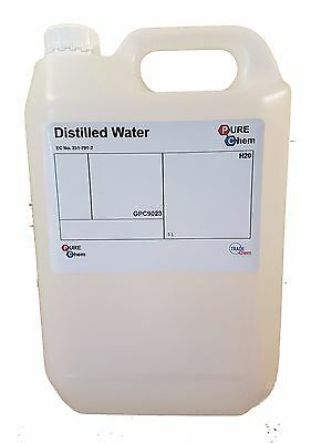 Distillée Eau 5L - Pure Chem
