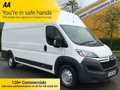 2014/ 64 Citroen Relay 35 HDi 130 Heavy L4 H3 HIGH ROOF VAN A/Con Low Mileage