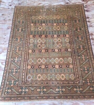 Antique Caucasian Handwoven Large Rug