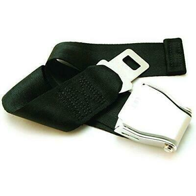 "E4 SAFETY CERTIFIED Adjustable 7-24"" Airplane Seatbelt Extender - FITS ALL AIR.."