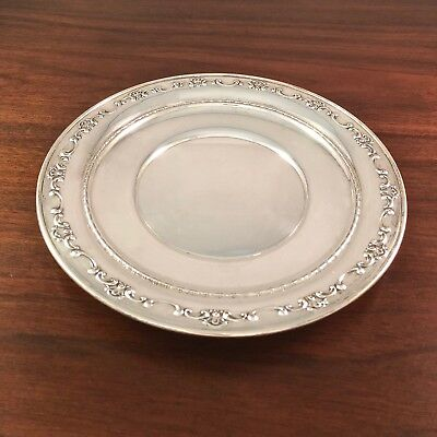 *Gorham Co. Sterling Silver Sandwich / Luncheon Plate Strasbourg No Monogram