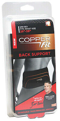 IDEA VILLAGE PRODUCTS CORP Copper Fit Back Support, L/XL CFBACKLXL