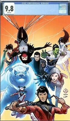 War Of Realms New Agents Of Atlas #1 Graded CGC 9.8 Cover A 1st Print Pre Order