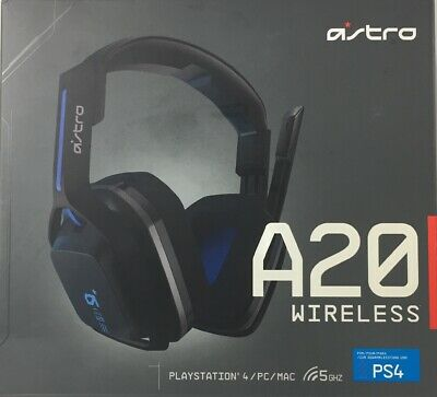 Logitech Astro A20 Wireless PS4/PC/MAC Gaming Headset w/ Boom Mic - Preowned