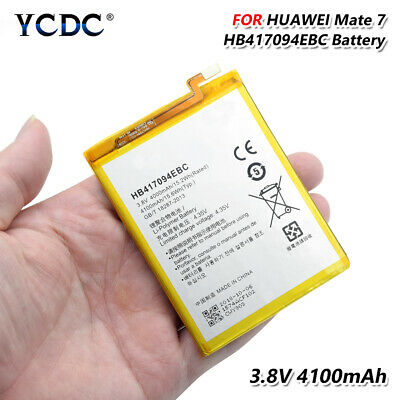 4100mAh Battery HB417094EBC For Huawei Ascend Mate 7 MT7-L09 TL10 UL00 CL00 CDC