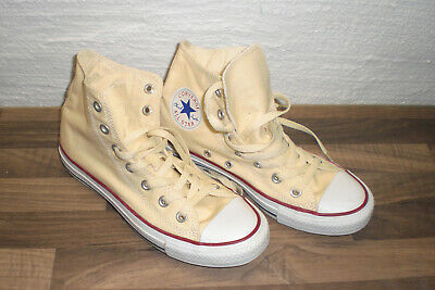 CONVERSE ALL STAR Chucks high beige Gr 38 - EUR 20,00 | PicClick DE