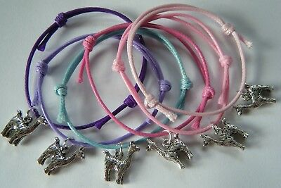 6 x LLAMA ALPACA BRACELETS BIRTHDAY PARTY GIFT BAG FILLERS HEN PARTY GIFTS