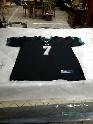 9bfa46ae049 Philadelphia Eagles Black NFL Football Jersey 7 Michael Vick Size 54 Reebok