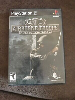 airborne troops countdown to d day ps2