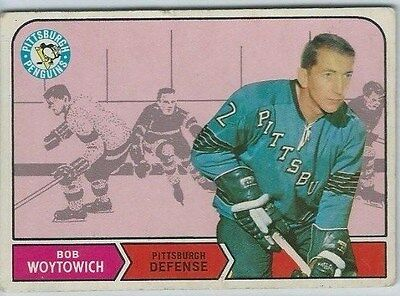1968-69 OPC OPeeChee Hockey #192 Bob Woytowich Pittsburgh Penguins