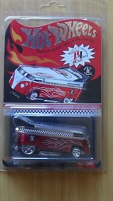 Hot Wheels Red Line Club Collector.com Custom VW Drag Bus Thank You RLC Members