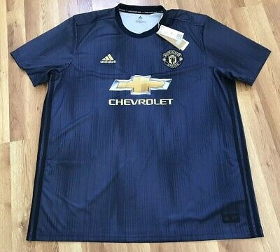 e81d1dd11 New Adidas Manchester United Parley Authentic 2018 19 3Rd Jersey Dp6022 Sz  Xxl