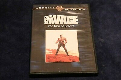Doc Savage - The Man of Bronze (DVD, 2009) FREE SHIPPING!