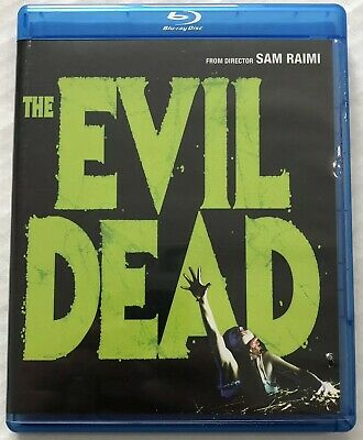 The Evil Dead (Bluray, 1981, OOP) Canadian