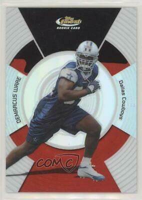 22929683fed 2005 Topps Finest Refractor/399 #142 DeMarcus Ware Dallas Cowboys Rookie  Card