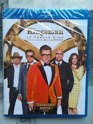 Kingsman 2 : le cercle d'or , blu-ray neuf sous blister