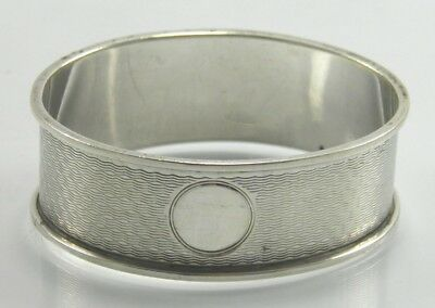Antique .925 sterling silver serviette napkin ring Birmingham 1927