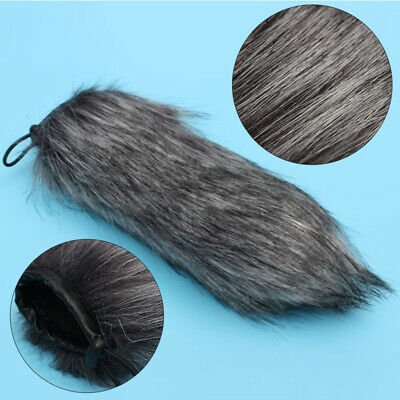Outdoor MIC Furry Wind Muff Windscreen Windshield Cover For Audio Microphone