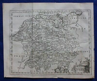 Original antique map GERMANY, Thomas Jefferys, c.1756