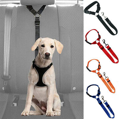 Pet Belt Dog Harness Car Vehicle Seat Belts Pet Safety Adjustable Leash Leads